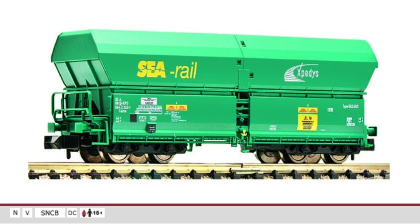 852324 High capacity self unloading hopper wagon type Falns SEA-rail SNCB xpedys.JPG